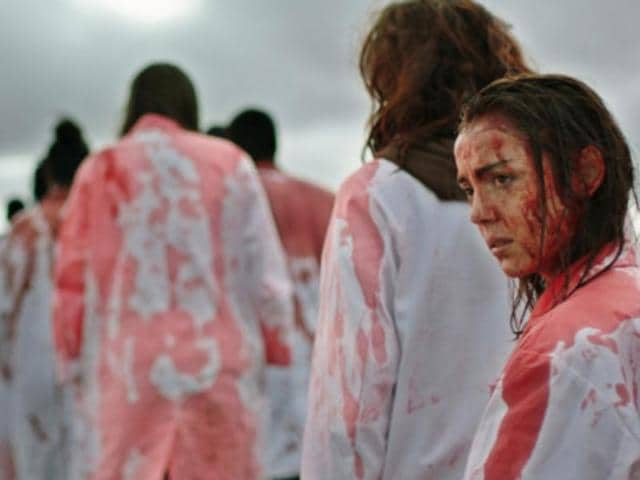 Raw is part coming-of-age story, part gross-out horror of a French college student's slow transformation into a cannibal.