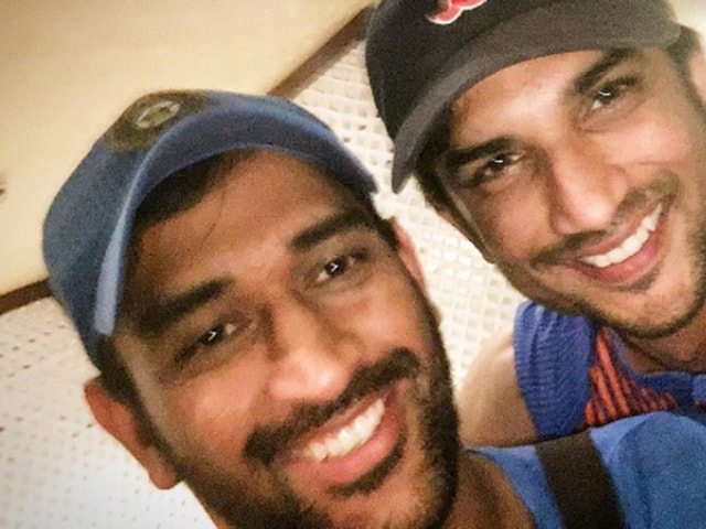 Sushant Singh Rajput is upbeat about the Dhoni biopic. (Twitter)