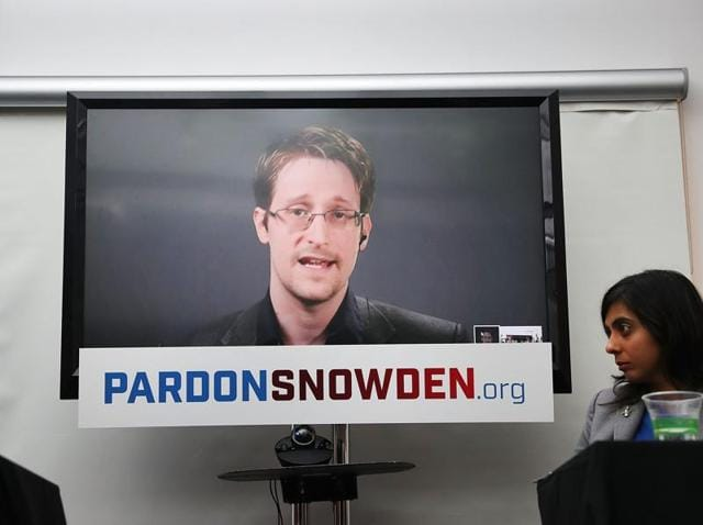 Snowden said whiste-blowing safeguards democracy.