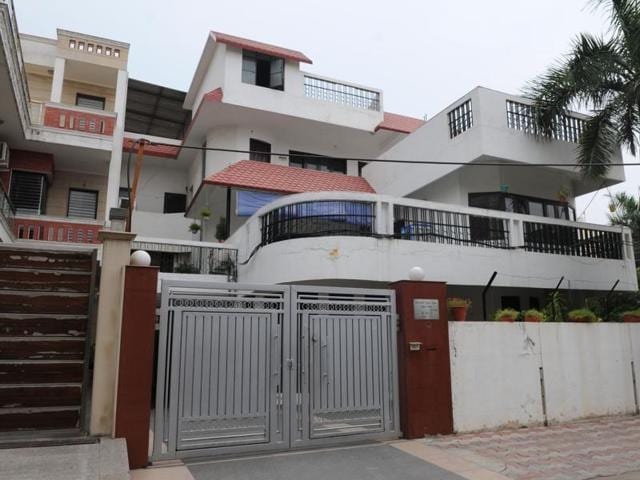 The Gurgaon police said the body of the deceased, Abhilasha, was hanging from the ceiling fan for more than two days while her husband stayed in the next room on the second floor of the house.