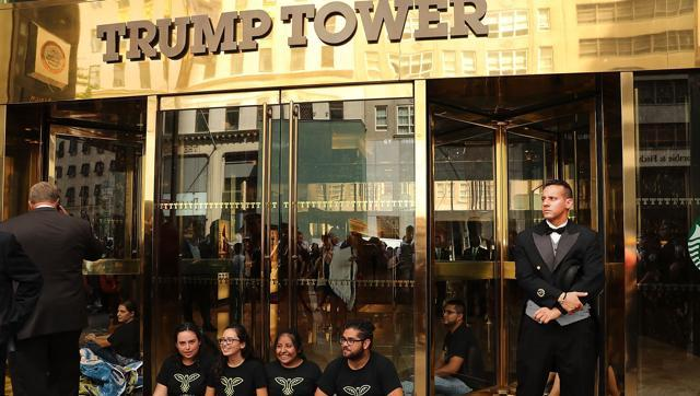 Trump Tower in Manhattan in New York City.