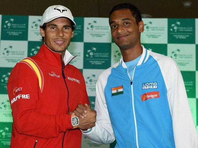 Davis Cup,Ramkumar Ramanathan,Rafael Nadal