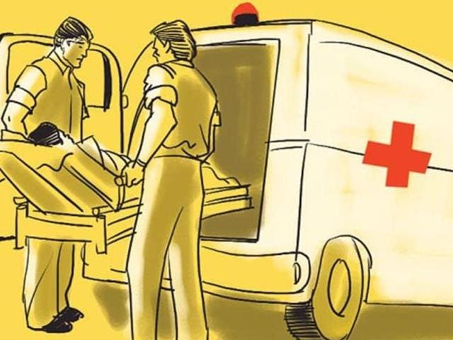 Five people were killed and 21 others injured when a state transport bus rammed into a stationary truck near a village on Godhra-Dahod highway.