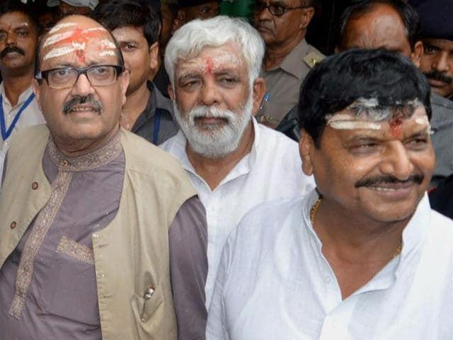 Samajwadi Party infighting,Yadav family feud,UP politics