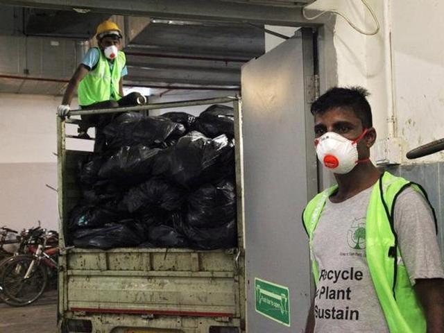 Garbage disposal app