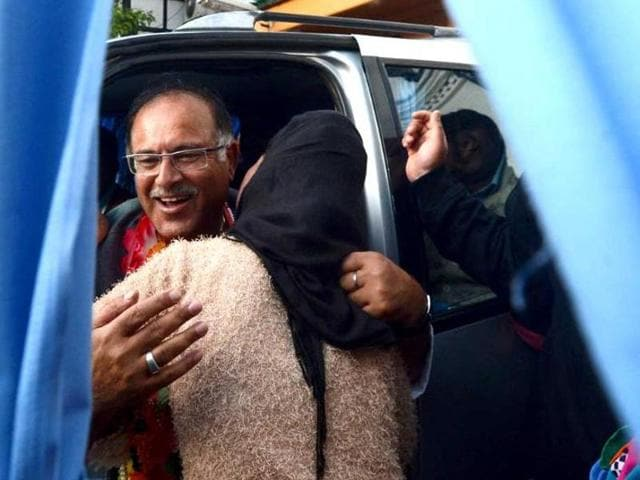 File photo of People's Democratic Party (PDP) MP Tariq Hamid Karra who resigned from the party and Lok Sabha on Sep 15, 2016.