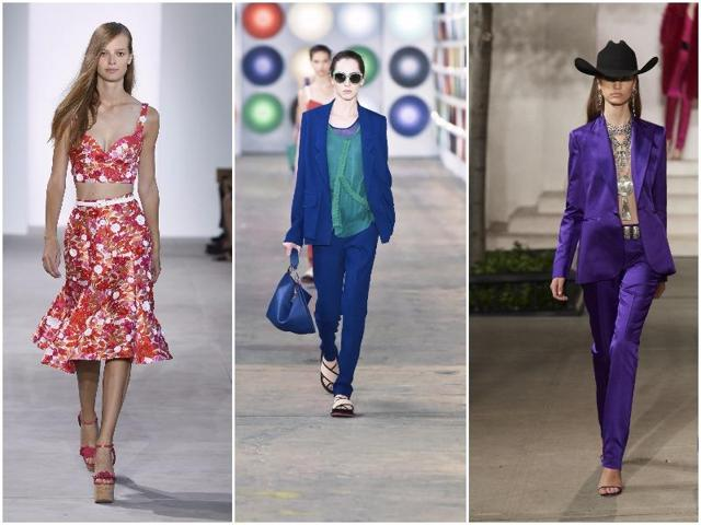 Celebrated designers including Ralph Lauren, Michael Kors and Jason Wu helped New York Fashion Week end on a colorful high.