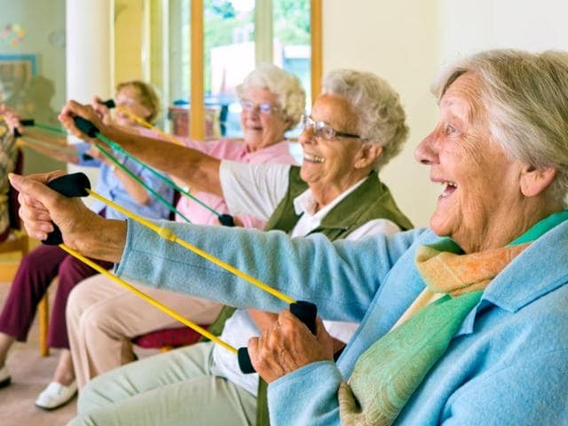 Laughter can prove to be an enjoyable addition to a traditional exercise program, say researchers.(Shutterstock)