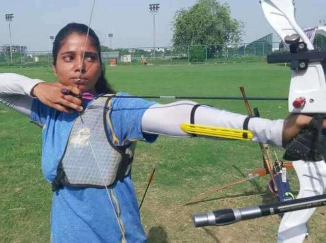 Pooja Khanna,women's archery,individual recurve event