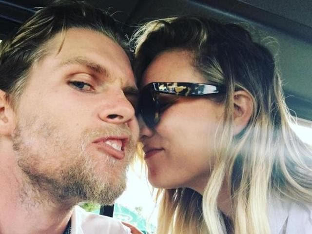 Kaley Cuoco gushed about her boyfriend Karl Cook and said they were meant to be together.