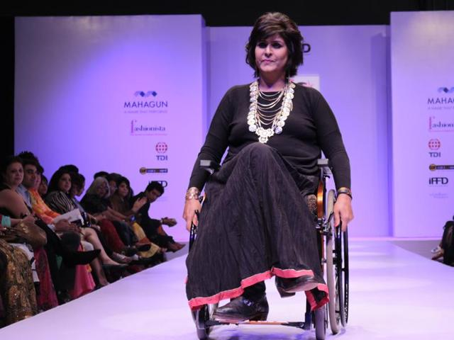 Deepa Malik, the first Indian woman to win a Paralympic medal has won several beauty contests.