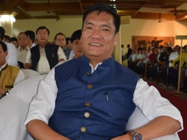 Friday dawned with chief minister Pema Khandu and his MLAs huddled with Peoples Party of Arunachal leaders.