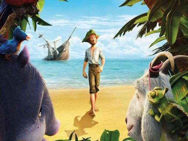 Narrated from the perspective of the willful animals rather than the titular adventurer, Robinson Crusoe is not entirely without merit.