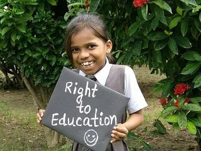 More than 15,000 students have enrolled in schools across 49 of 75 districts in Uttar Pradesh this year under the right to education act.