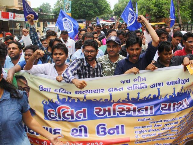 Mohammad Ayyub Mev's attack by cow vigilantes is not an isolated event. In August, four Dalits were brutally beaten by alleged vigilantes for skinning a dead cow,  leading to widespread protests.