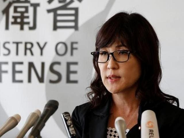 """Japan's defense minister Tomomi Inada said that if the world condoned attempts to change the rule of law and allowed """"rule bending"""" to succeed, the """"consequences could become global."""""""
