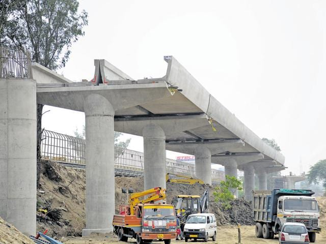 The 9.41km metro link will have eight stations