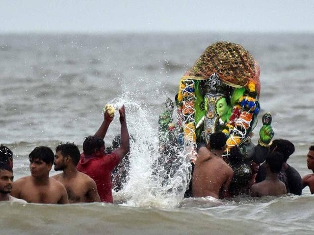 Ganesh immersions