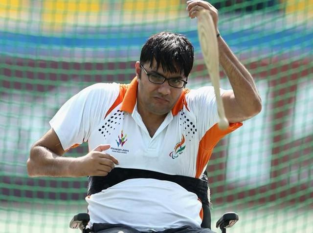 Amit had won a gold in the 2014 Para Asian Games in Incheon and a silver in the 2015 IPC World Athletics Championships.