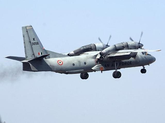 The Indian Air Force's AN-32 aircraft went missing with 29 on board on July 22, 2016.