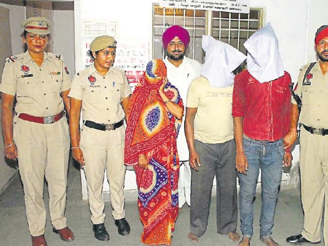 8-year-old girl's murder,Three accused,clean chit