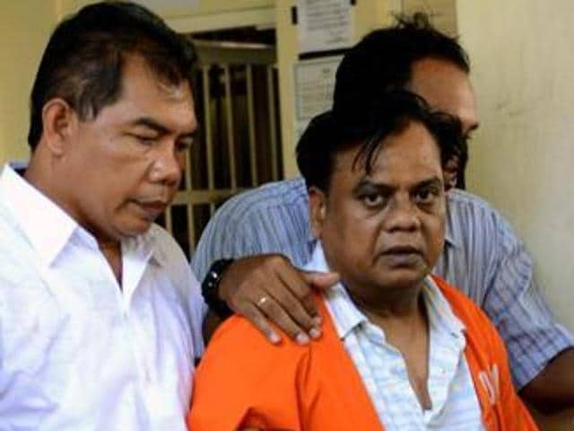 The CBI fears that as some of the members of Chhota Rajan's (in photo) gang lodged in the same jail as Sinha, it may endanger his life.