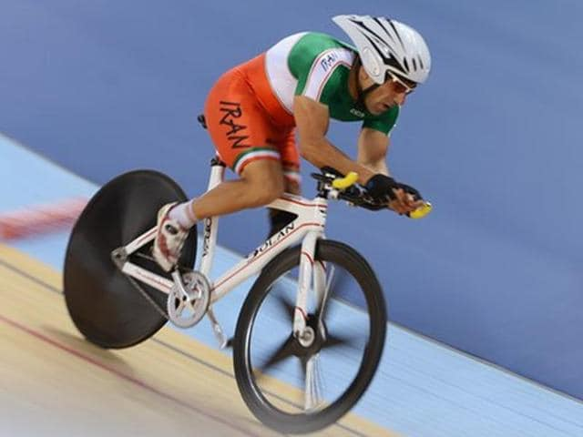 Bahman Golbarnezhad competed at the Paralympics in London in 2012.