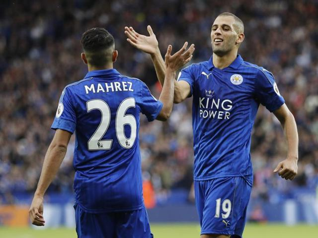 Claudio Ranieri believes the Algerian duo of Mahrez and Slimani will relish joining forces at club level.