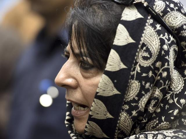 """Jammu and Kashmir chief minister Mehbooba Mufti said Uri attack is aimed at creating a """"war-like"""" situation in the region."""