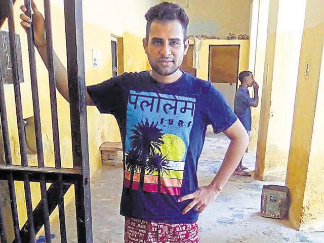 Undertrial uploads photo on FB,Rajasthan jail,Bharatpur Central Jail