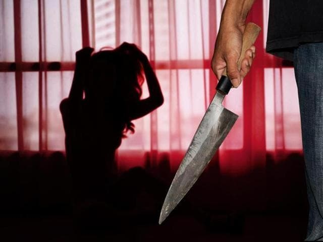 Body of an unidentified young woman was found near a college in Gandipet area here with her throat slit and hands tied.