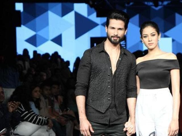 Shahid Kapoor and Mira Rajput got married in July, 2015. (HT Photo)