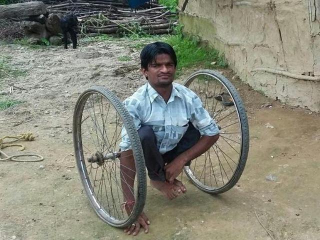 Jhabua,disabled student,Indore