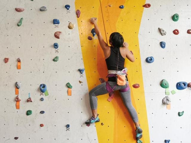 Anyone of any age can improve their strength and fitness with climbing, and enjoy the thrill of a new challenge.