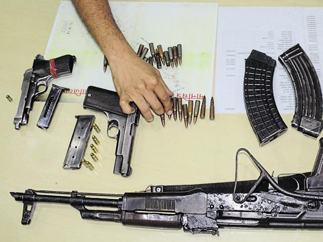 Retired CRPF commandant Brajendra Singh Yambem issued a service AK-47 rifle with three magazines and 90 rounds of ammunition to ex-undergrounds.