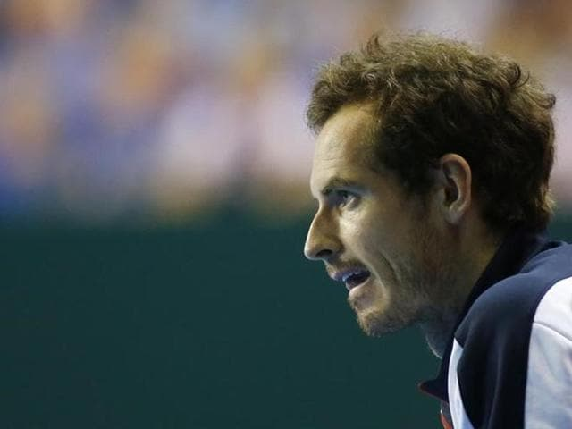 Murray had a thigh injury worry during his straight-sets win over Guido Pella in the first of the reverse singles.
