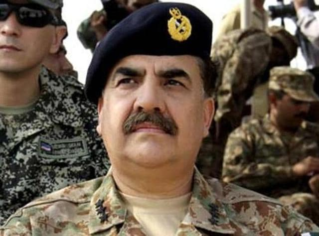 "Pakistan Army chief Raheel Sharif said the military would ""thwart any sinister design against integrity and sovereignty of Pakistan""."