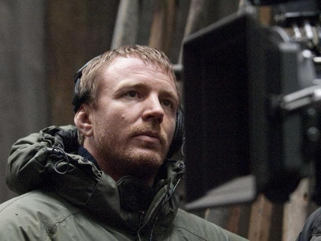 Guy Ritchie on the set of Warner Bros. Pictures' Sherlock Holmes.