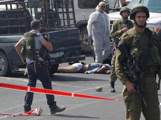 Israel,Palestinian stabbed,Jerusalem