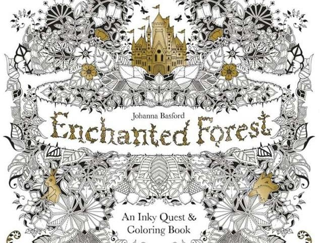 Adult Colouring Booksenchanted Forestsecret Garden