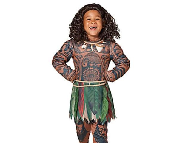"Disney has been accused of promoting ""brown face"" with a Halloween costume of Pacific demi-god Maui"