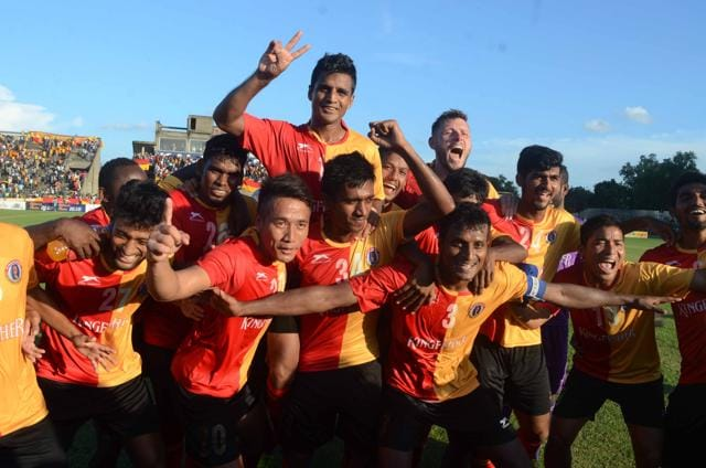 East Bengal won the Kolkata league, Asia's oldest football league, a record seven successive times this term. Traditional rivals Mohun Bagan skipped the Kolkata derby and lost two more games to concede the second spot to Mohammedan Sporting. HT Photo