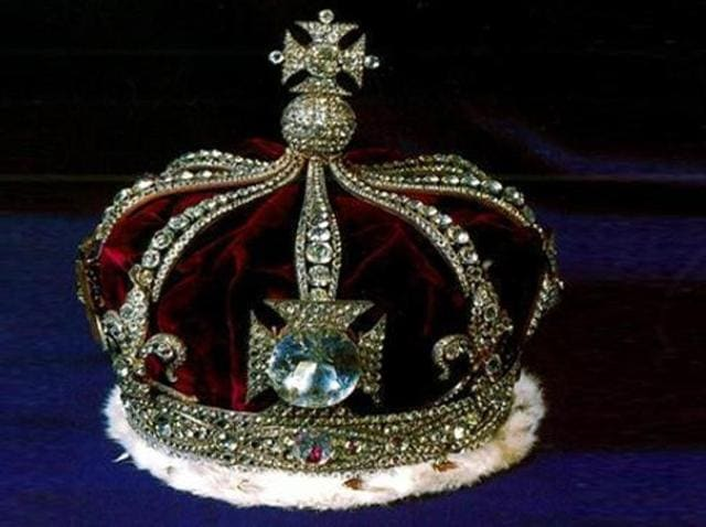 Centre said the 105-carat Kohinoor diamond was taken away by the British from Maharaja Duleep Singh.(HT File Photo)