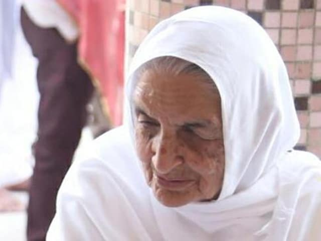 Namdhari sect matriarch Chand Kaur who was shot dead in April.