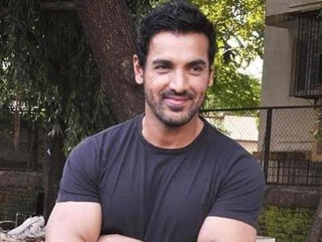 John Abraham has named the his newly adopted female stray pup Bailey.