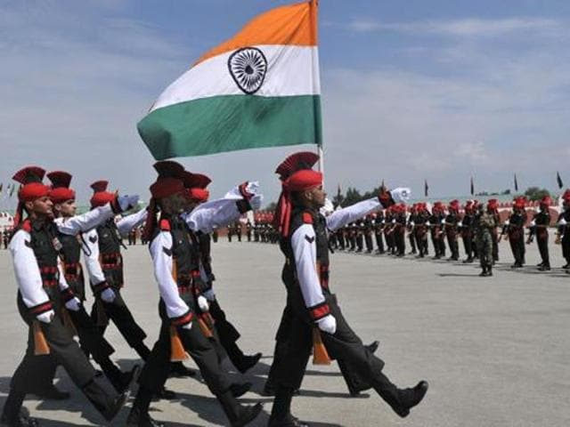 A majority of Indians are in favour of using military force to deal with international terrorism, according to a recently released survey.
