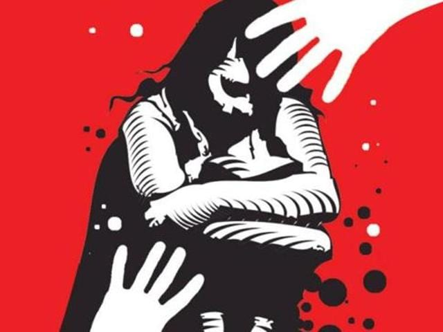 The girl was allegedly gang raped by five people while she was playing by herself at a city park.