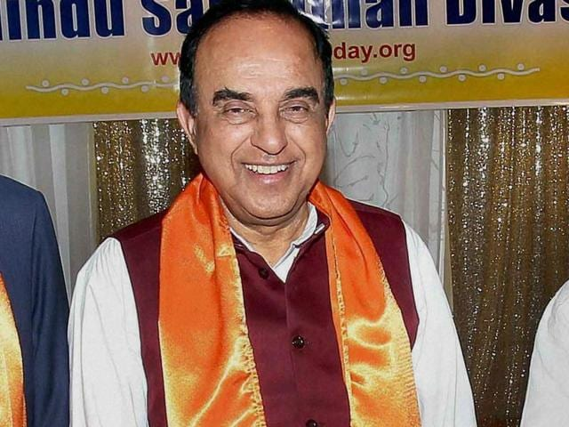 Subramanian Swamy,PM Modi,GST's IT backbone