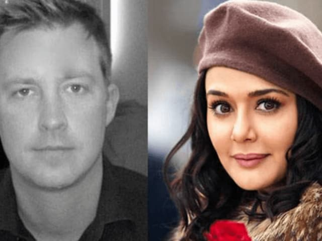 Preity Zinta's husband Gene Goodenough is a resident of Los Angeles in the United States. He is a senior vice president of finance with a US-based hydroelectric power company.