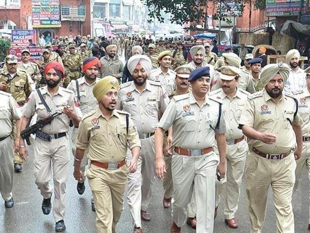 Punjab Police,security,border towns